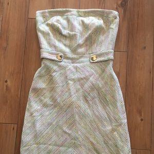 Trina Turk Strapless Liberty Dress